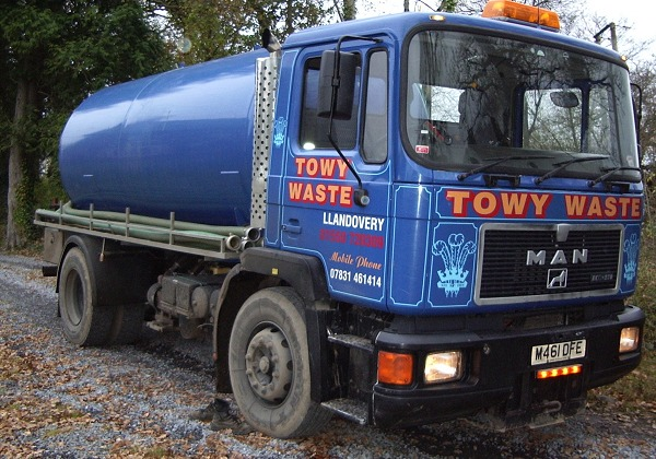 Towy Waste lorry