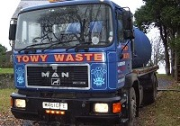 Towy Waste lorry, click for larger image